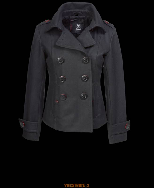 Полупальто Upper East Coat | Цвет Black